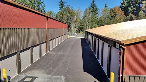 Storage Units on Bainbridge Island at Coppertop Park